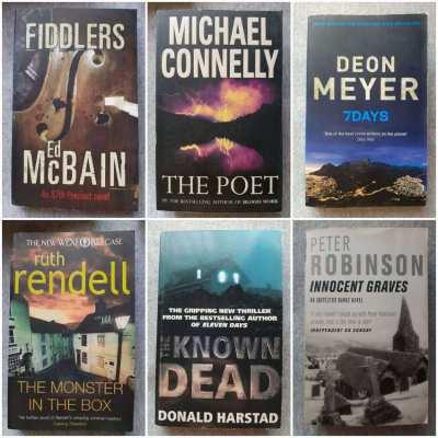 Police Procedural Novels - Including; John Burdett / Michael Connelly