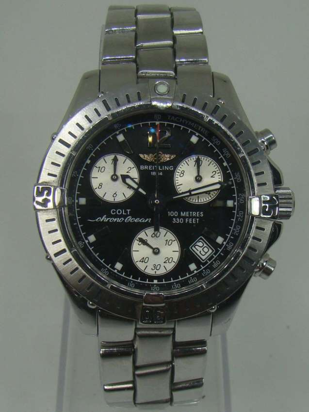 Rolex; we buy and sell them..... and also other high end watch brands