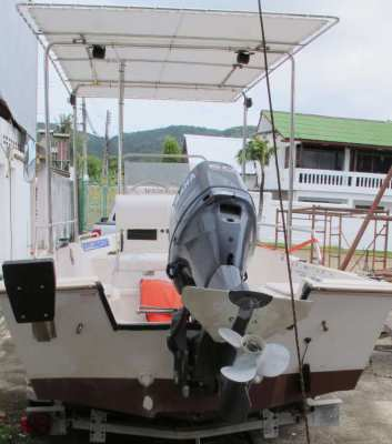 BOAT, OUTBOARD, TRAILER & PICKUP FOR SALE