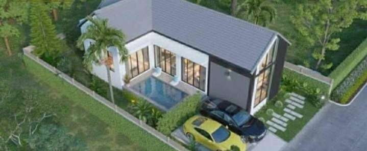 House for sale East Pattaya with private swimming pool soi.Nongketyai.
