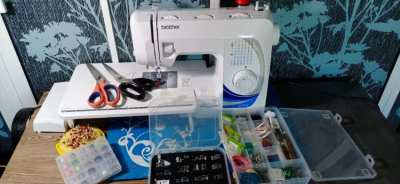 Brother GS2700 sewing machine.