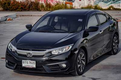 Honda Civic Fc 1.8EL 2017 สีดำ