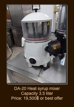 Useful Restaurant Equipment and Others