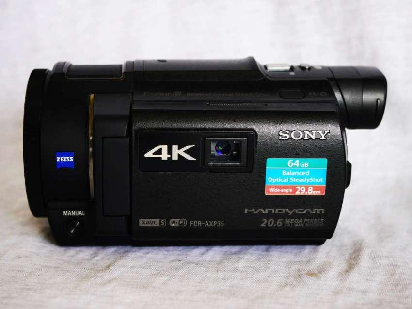 SONY FDR-AXP35 AXP35 4K 20.6MP Stills Built-in Projector