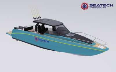 New boat SEATECH Cuddy Cabin Concept Model CD380