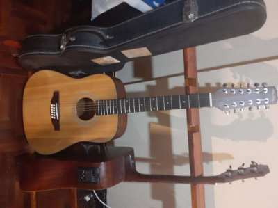 New 12 string guitar, beautiful, full sound, Made in China, Great Guit