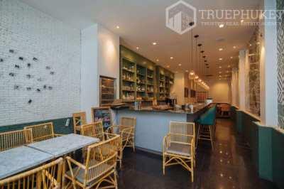 Three-Storey Cafe in Phuket Town