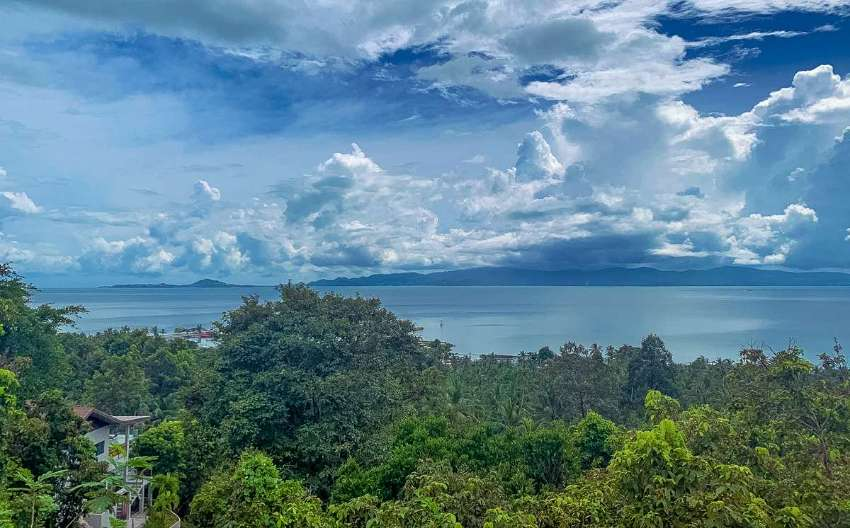 Sea view land for sale in Koh Phangan
