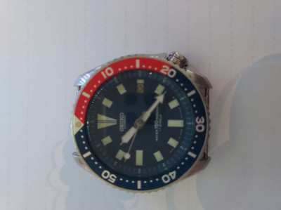 SEIKO DIVERS WATCH 42MM JUST BEEN SERVICED WITH NEW CROWN WHEEL