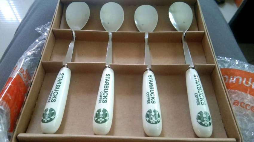 Premium Coffee Spoons Set : Starbucks Set