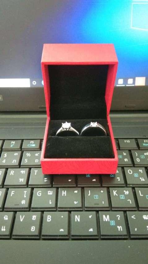 Diamond Couple Silver Rings >> Brandnew