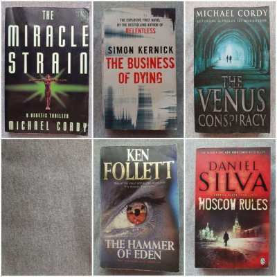 A Mixed Bag Of Thrillers