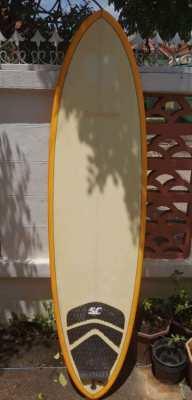Surfboard 6.6 epoxy + fins