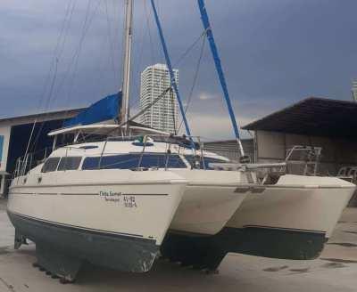 1998 Prout 39 Escale Cruising Catamaran - Needs Work - Make an Offer