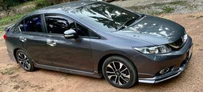 รถมือสองสภาพดี  Honda Civic 1.8 ES ปี 2014