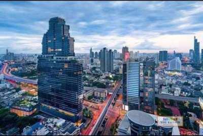 For sale The Bangkok Sathorn, 104 sq.m 2 beds 2 baths เดอะ แบงค็อค สาท
