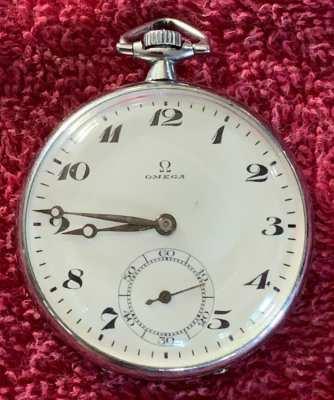 OMEGA SWISS Taschenuhr 15 Jewels pocket watch