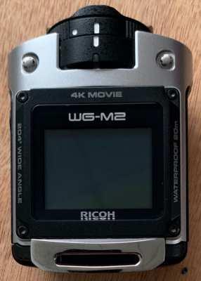RICOH Waterproof Action Camera WG-M2 Silver 4K video