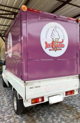 Food truck ice cream 220,000 baths
