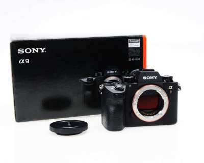 SONY A9 Professional Full-Frame Camera in Box