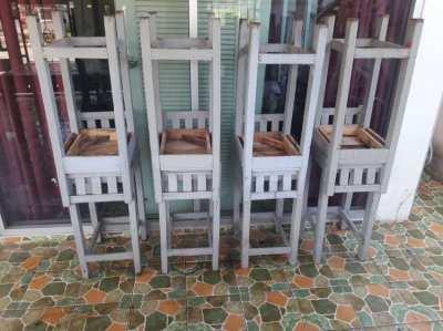 Wooden stalls