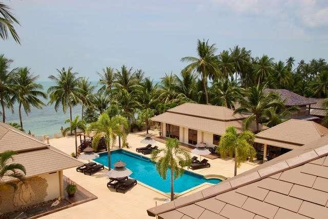 Beachfront Boutique resort on 2+ rai for sale in Koh Samui