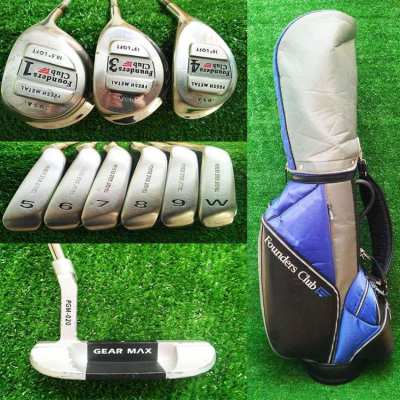 Full set of Founders clubs USA in bag, FREE shipping