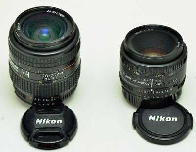 NIKKOR, TAMRON LENSES - perf condition, humidity controlled storage