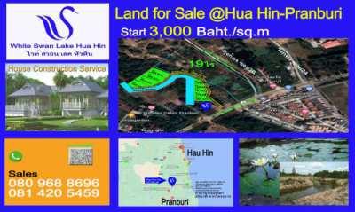 Land for Sale, Thailand, Huahin