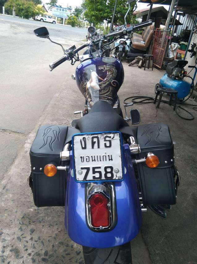 Motorcycle custom paint and chroming service by Farang