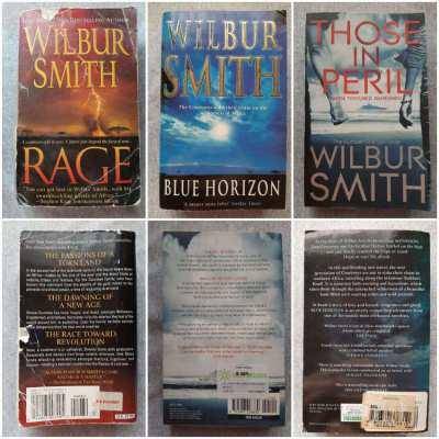Gerald Seymour / Michael Crichton / Wilbur Smith
