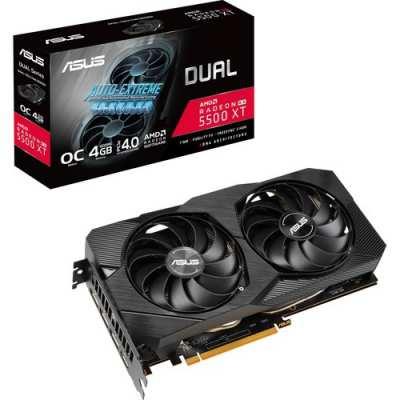 Asus Dual Radeon Rx 5500 Xt Evo Oc Graphics Card