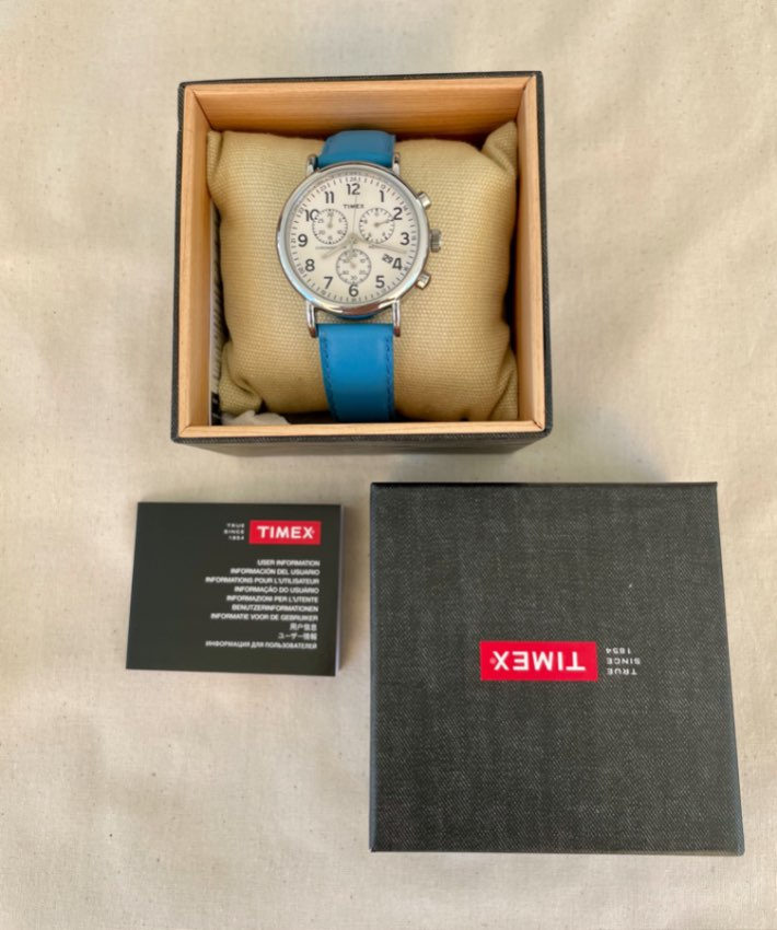 TIMEX CHRONOGRAPH ….. EXCELLENT CONDITION