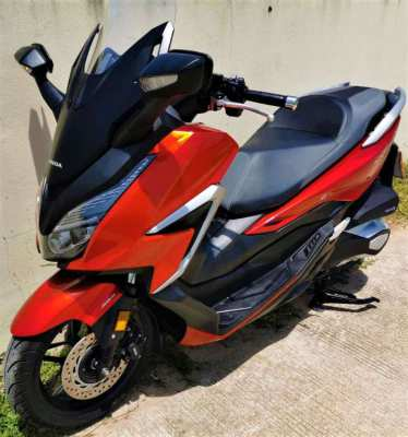 02/2021 Honda Forza 350 3xxxkm 153.900 ฿ Easy Finance by shop