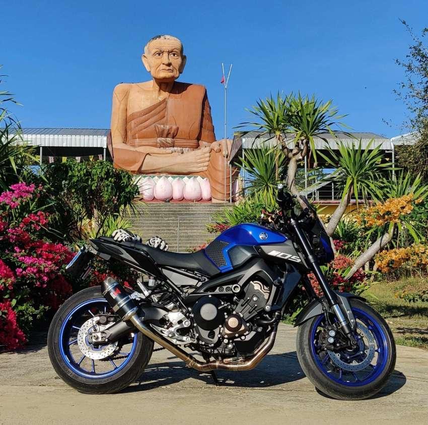 2018 Yamaha MT09, ( 1 of a kind )