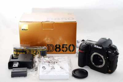 Buy New Sealed Nikon D850, Nikon D750, Canon EOS 6D