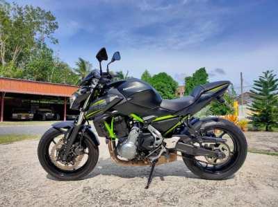 Kawasaki Z650 ABS ปี 2019