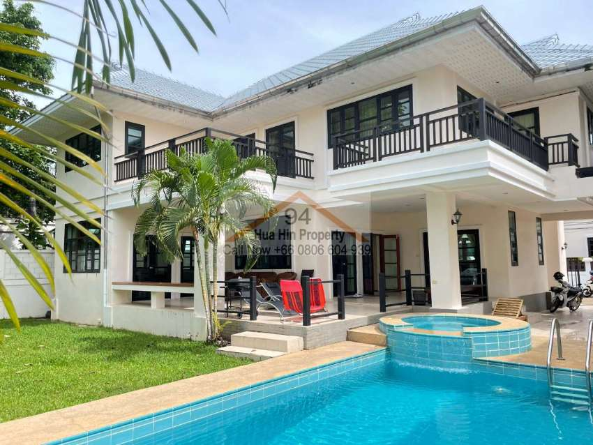 Hua Hin Soi 88 bargain priced pool villa on a sought after location