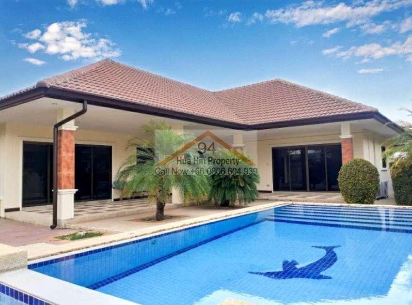 Pool Villa with high standard on a half Rai plot just near Palm Hills