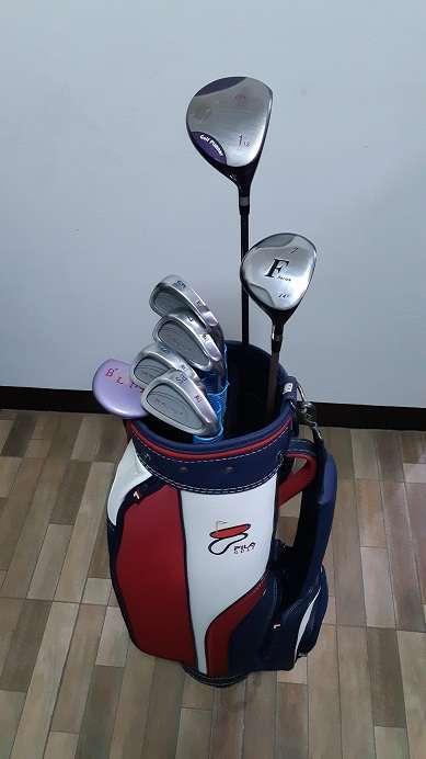 women's golf set(FILA)