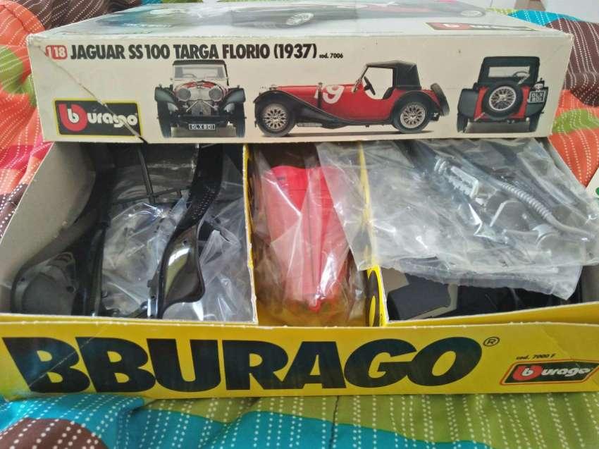 Burago Jaguar SS100 TargaFlorio 1:18