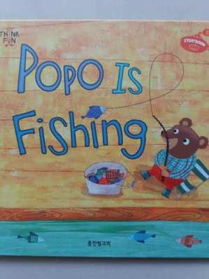 Popo Is Fishing - Children's Book