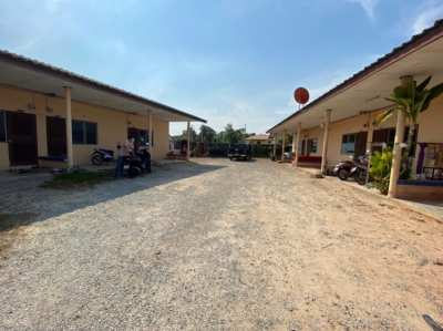 Half of Rai Plot Land For Sale with 2 Buildings