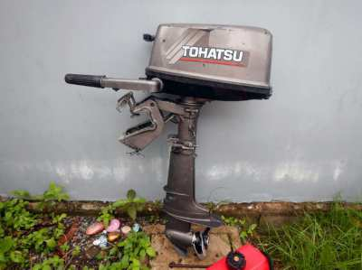 Tohatsu  4 hp 2 stroke Good condition.