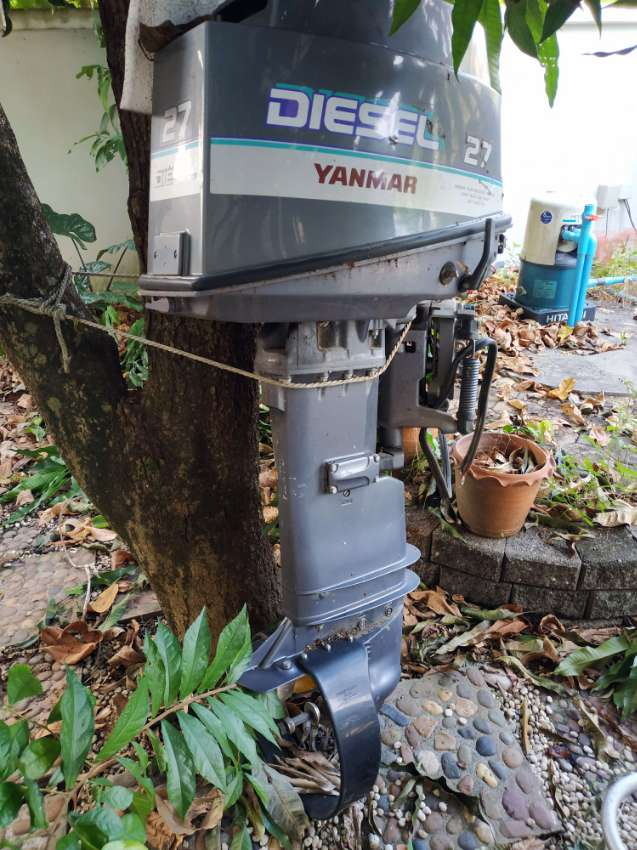 Yanmar 27hp Diesel Outboard (D27) (NEW CONDITION)