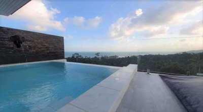 For sale modern sea view villa in Lamai Koh Samui