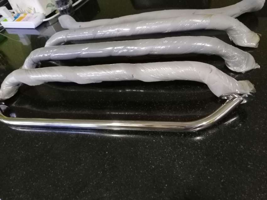 Stainless steel (316) handrails from UK