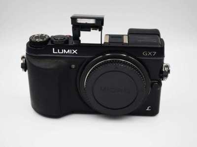 Panasonic Lumix DMC-GX7 Wi-Fi NFC Black Body, GX7, G-X7, GX-7
