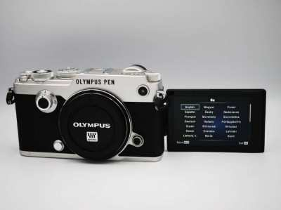 OLYMPUS PEN-F 20.3MP Wi-Fi Camera Body in Box