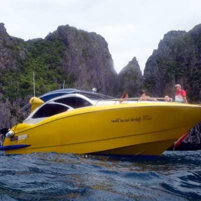 Expression of Interest: 42' Sunnav Fiberglass Speedboat